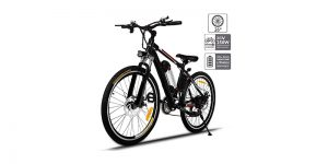 Aceshin 26'' Electric Mountain Bike