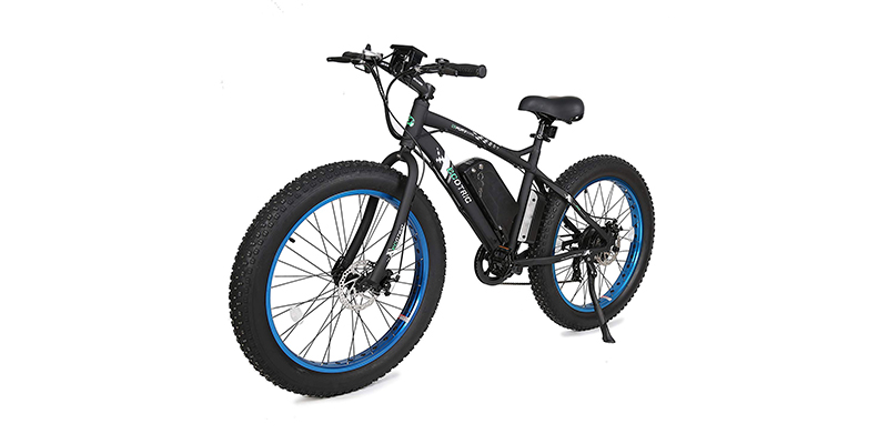 ECOTRIC Fat Tire Electric Bike Beach Snow Bicycle