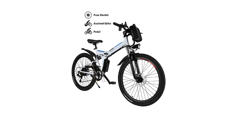 Yiilove Electric Bicycle 26'' Electric Mountain Bike