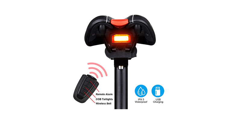 G Keni - Bike Tail Light Anti-Theft Alarm